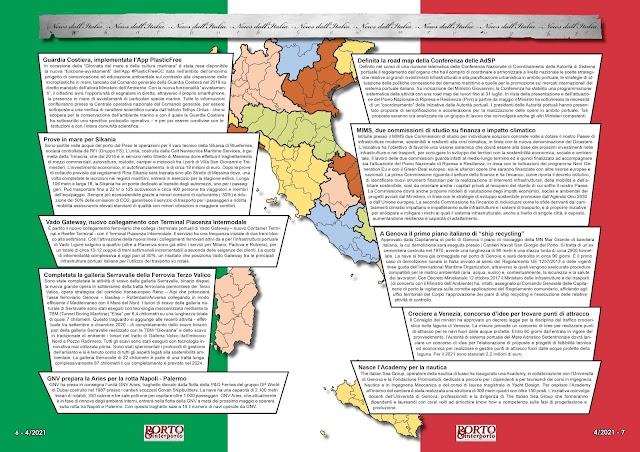 APRILE 2021 PAG. 6 - NEWS DALL'ITALIA