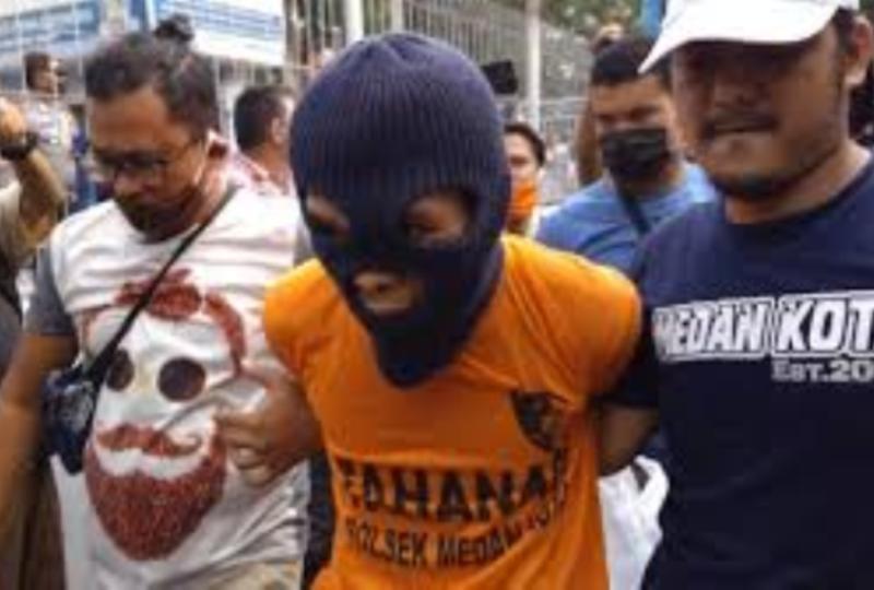 Ini Kronologi Lengkap Pembunuhan Sadis Ayah Bunuh 2 Anak Tiri di Medan