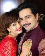 karan mehra with her wife nisha rawal