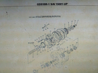 DG510R-1 Parts book komatsu motor grader 2