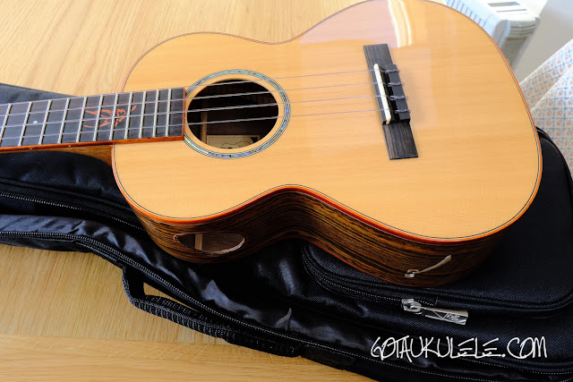 Kai KTI-700 Tenor Ukulele body