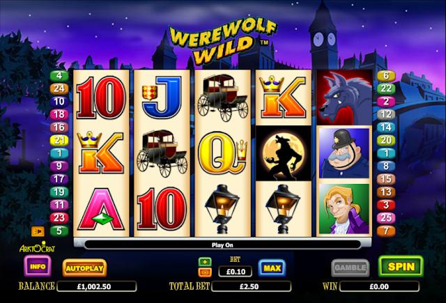 Slot Online Werewolf Wild