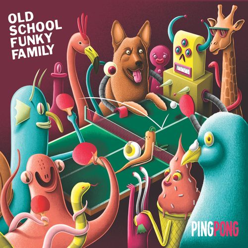 Le Live du samedi Old School Funky Family Ping Pong