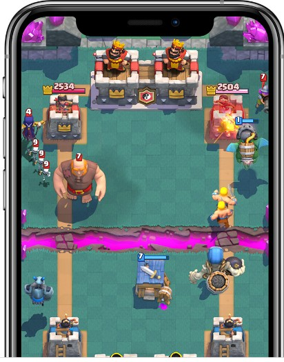 Clash Royale computer game