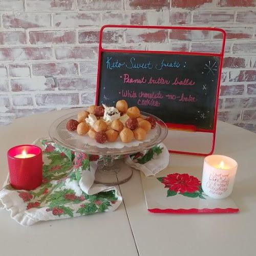 Keto-friendly Christmas Sweet Treats