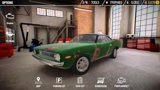 Simulador de mecânica de automóveis para android com dinheiro infinito