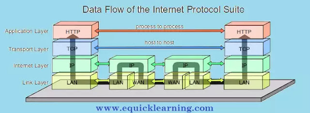 What is TCP/IP and Internet Protocol Suite in Hindi ?