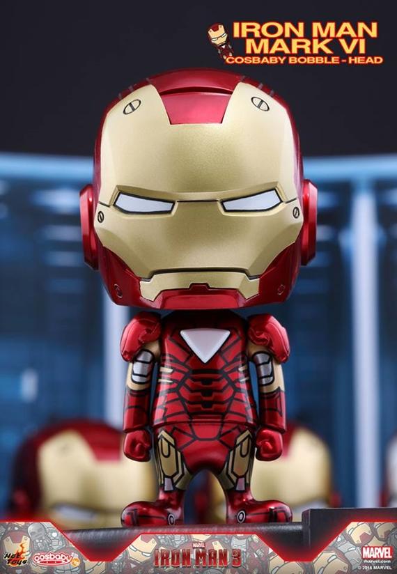 Hot Toys -《鐵甲奇俠》 Iron Man Mark 1-7 Cosbaby Q版人偶! - Toys Zone D 玩具兄弟 -Figures Price List. Reviews