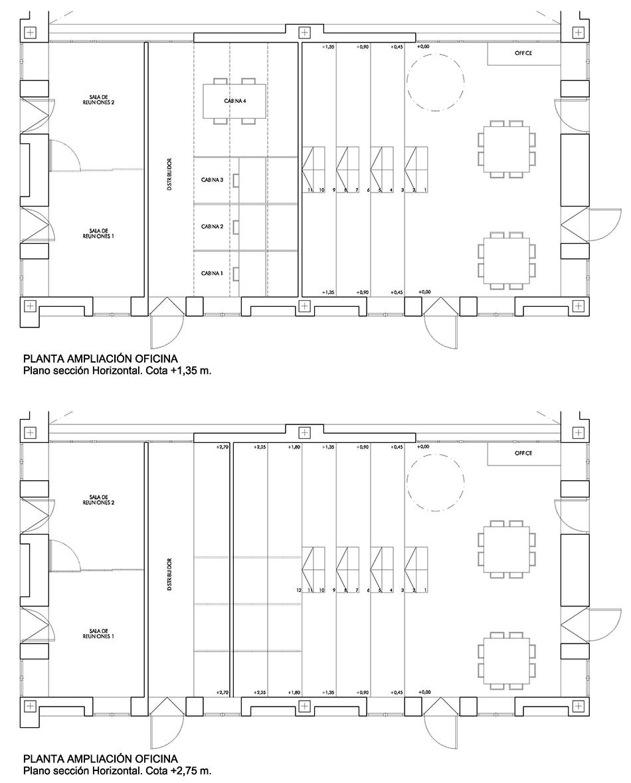 Estudio Honorio Aguilar - Ampliación de oficina en Sevilla