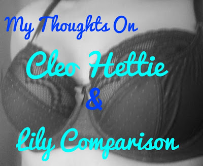 cleo lily, cleo hettie, cleo, panache, my thoughts on bras, bra review, bra comparison