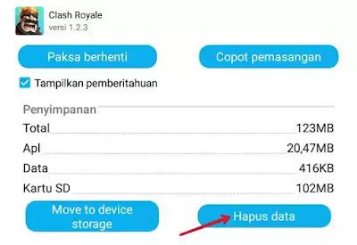 Data clash royale