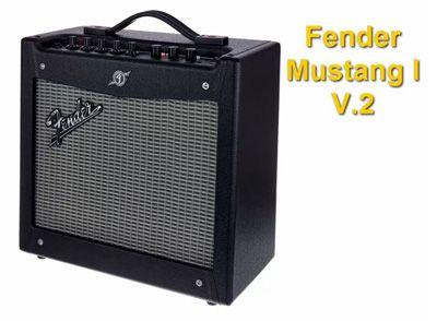 Amplificador para Guitarra Eléctrica Fender Mustang I V.2