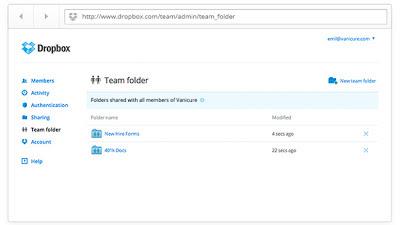 Nuevas funcionalidades de Dropbox