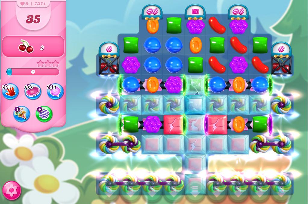 Candy Crush Saga level 7371
