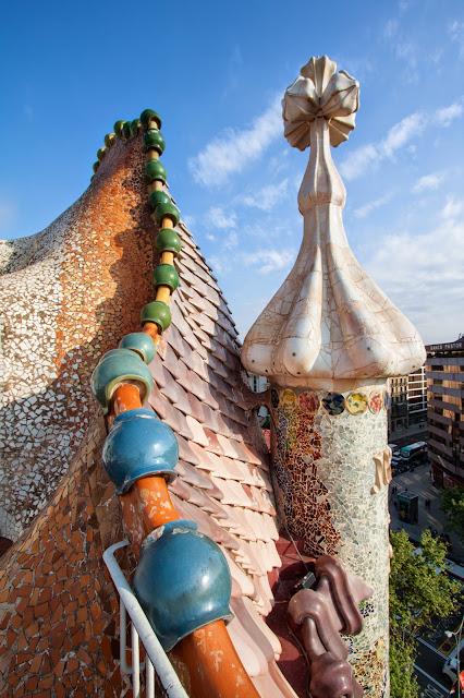 Casa Batlò di Antoni Gaudì-Barcellona