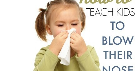 Tips To Help Kids Learn How To Blow Their Nose The Ot