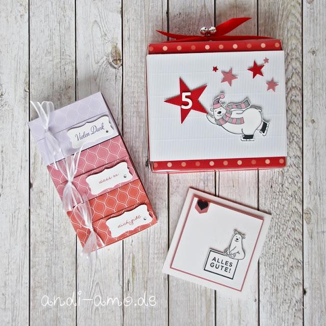 Geschenkset DIY selbstgemacht Verpackung und Karte