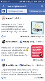 Cara Blogger mencari Job Content Placement