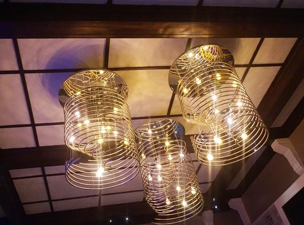 perayaan tahun baru, lampu kristal
