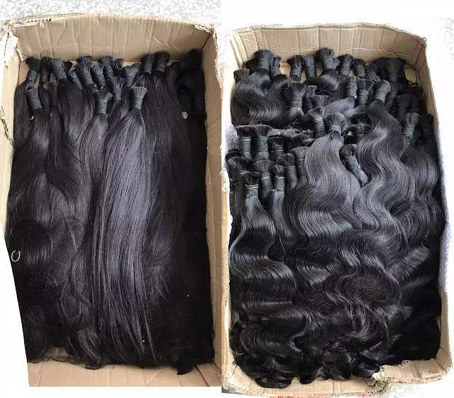 What does Indian Virgin Human Hair Come?