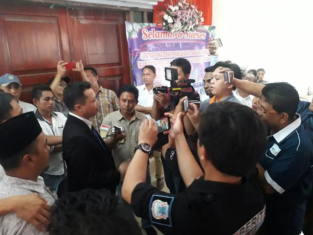 Usai Dilantik Sebagai Legislator Manado Towoliu Katakan Tidak Ada Lagi Perbedaan Pilihan