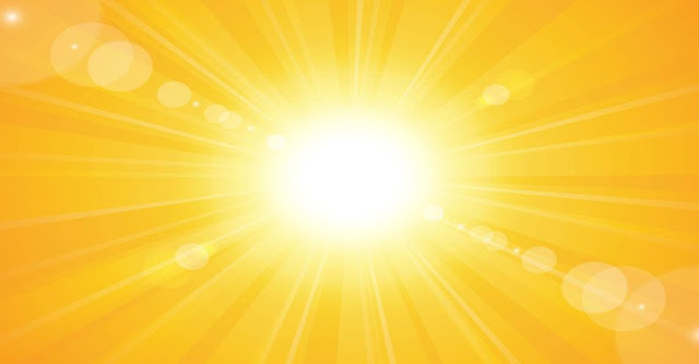 On the first day of Summer in the northern hemisphere the sun is directly over the
