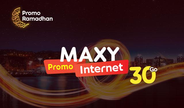 سارع للحصول على عرض Maxy اوريدو الجديد حتى 30Go بمناسبة رمضان !