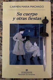 Portada del libro Su cuerpo y otras fiestas, de Carmen Maria Machado