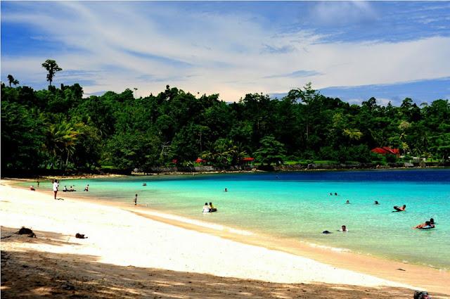 Pesona Wisata Pantai Pasir Putih di Lampung yang Menarik Netizen
