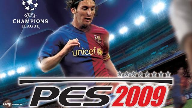 تحميل لعبة بيس 2009 pes 9 للكمبيوتر برابط مباشر ميديا فاير