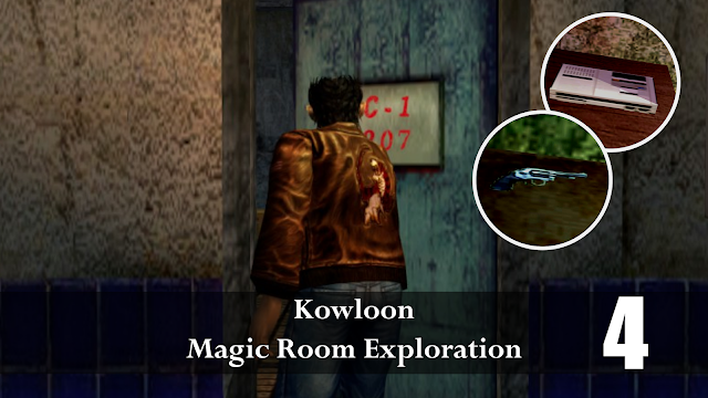"Special Items in Kowloon's ""Magic Rooms"" 