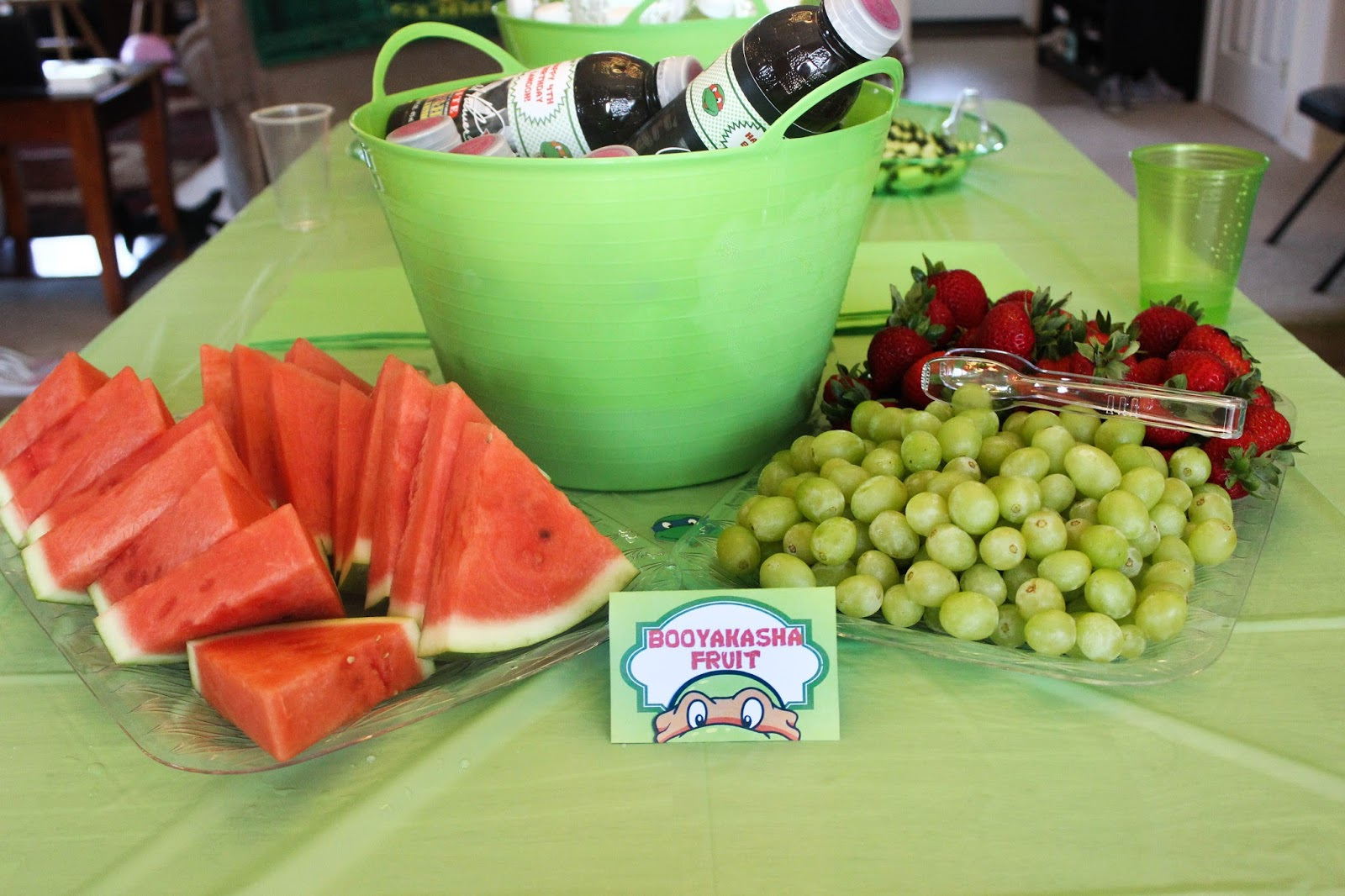 The Mommytastic Adventures: TMNT Themed Birthday Party Ideas