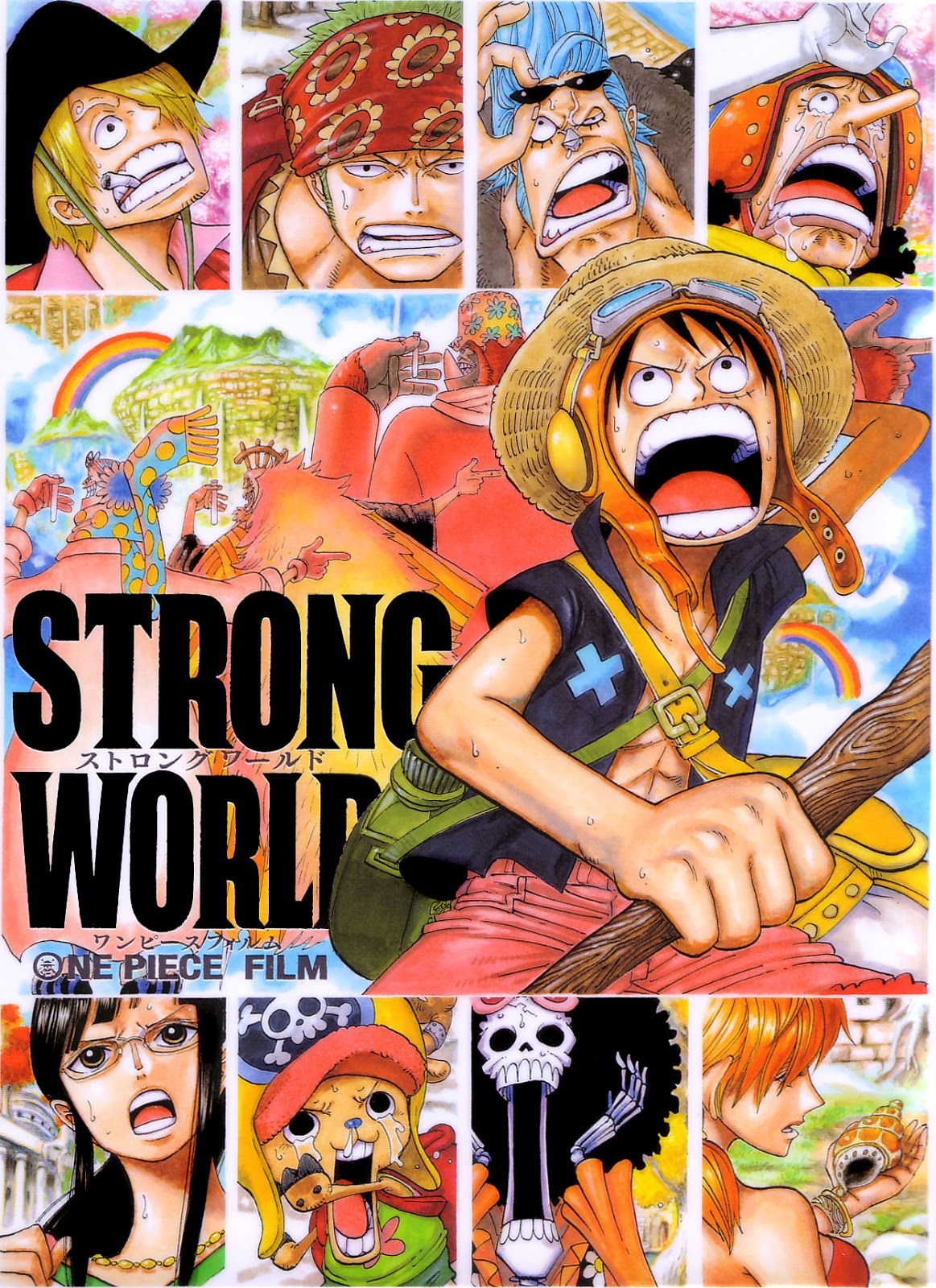 Download One Piece: Strong World (2009) BluRay 720p 800MB