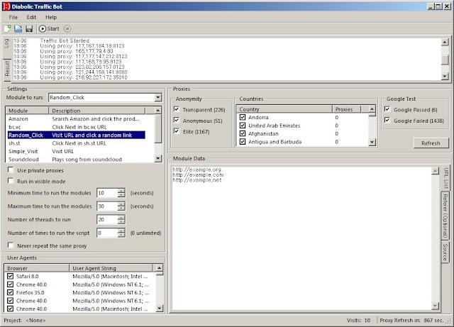 Get Diabolic Traffic Bot Download + Tutorials | Adsense Account