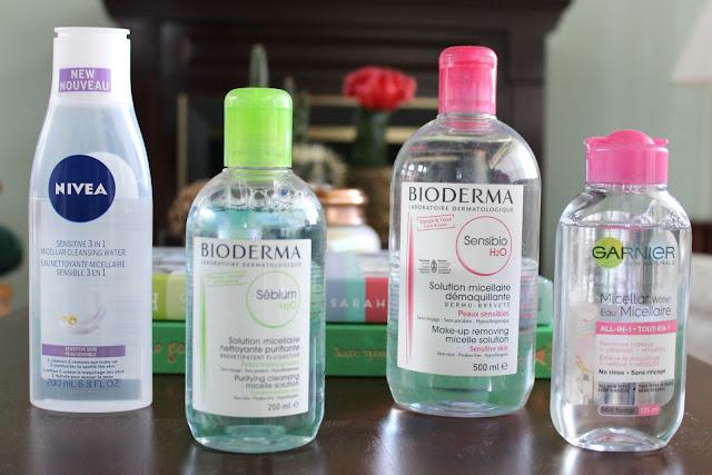 makeup remover, cleanser, skincare, nivea, bioderma, garnier, micellar water, micellar