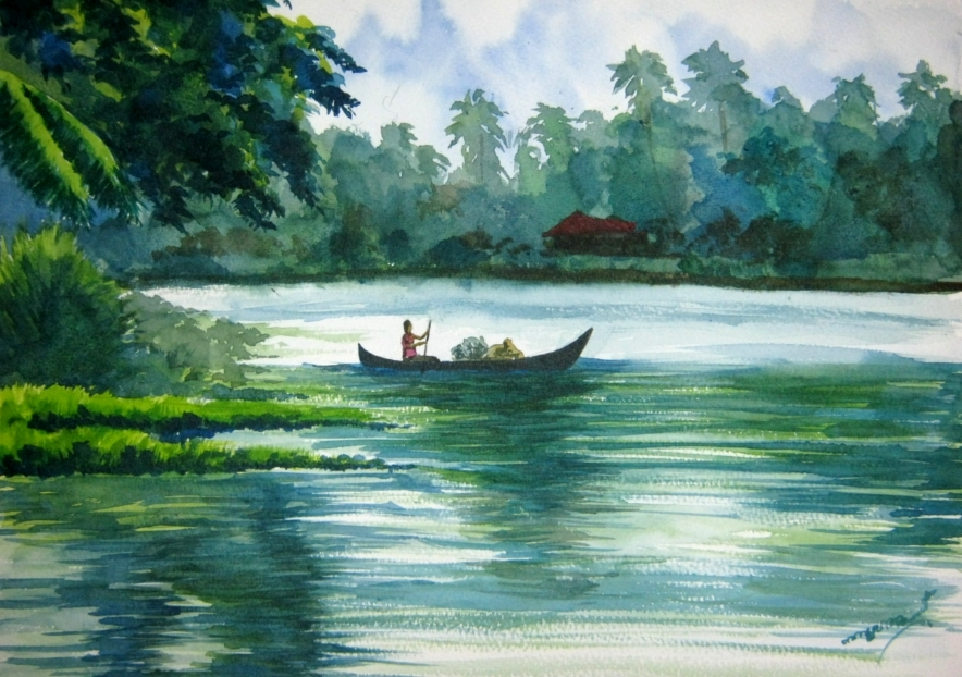 Best Oil Paintings Of India