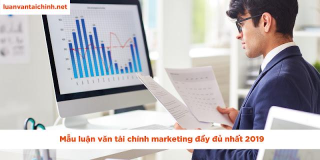 luận văn tài chính marketing