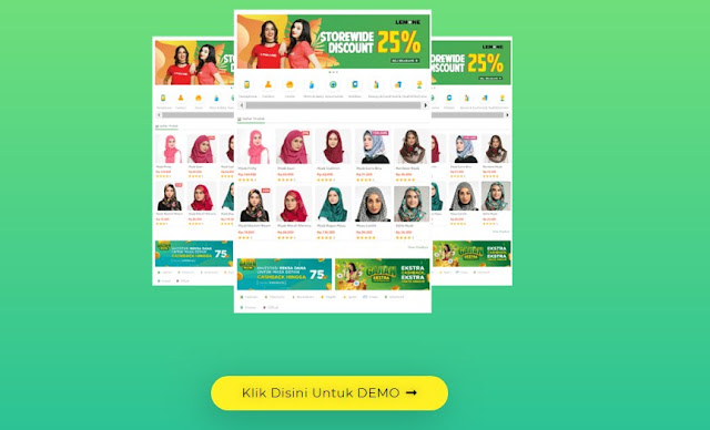 Download Template Toko Online Tokopedia Blogspot