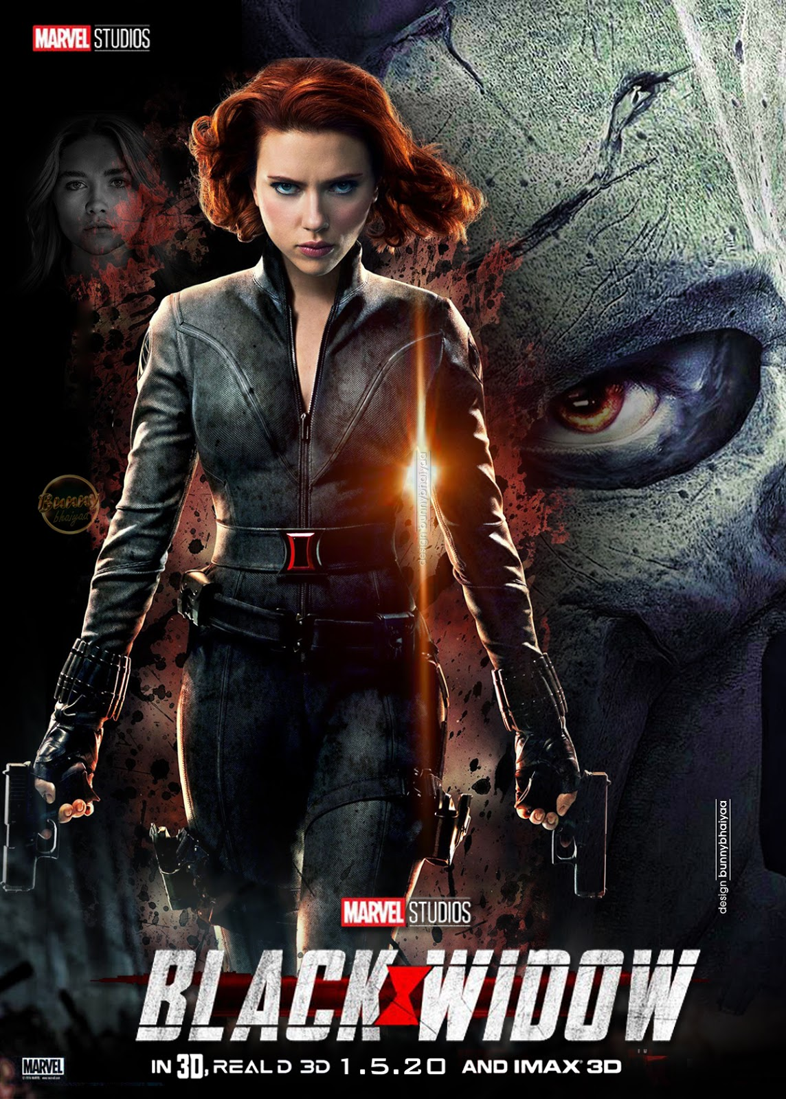 Hindidubbedsouthmoviesposters Black Widow Hd Poster