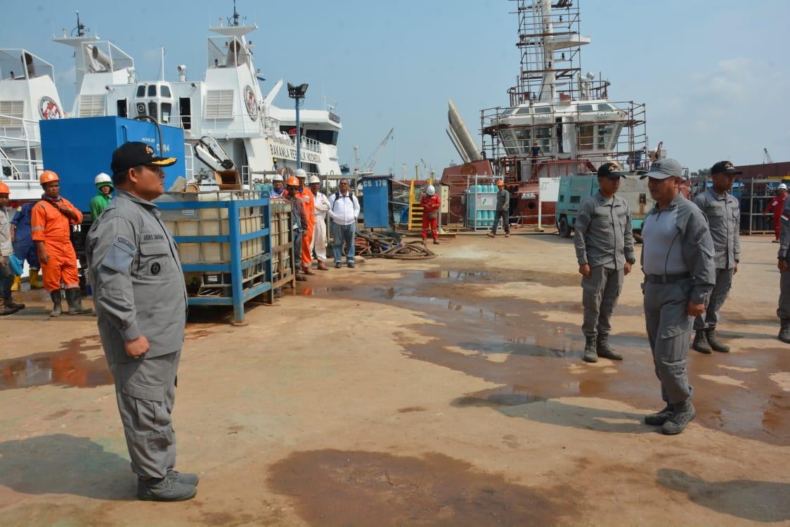 Bakamla RI / IDNCG Uji Coba Kapal Patroli Baru KN Pulau Nipah-321