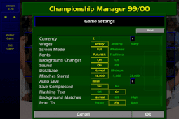Download and Install Game Championship Manager 1999/2000 (CM 99/00) for Computer or Laptop