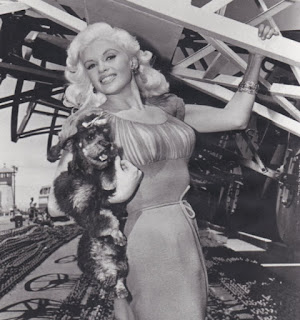 Jayne Mansfield And Her Poodle