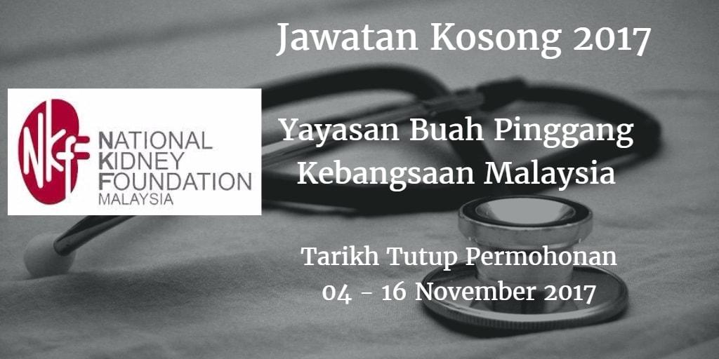 Jawatan Kosong NKF 04 - 16 November 2017