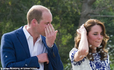 pRINCE WILLIAM and kate visit Taj mahal