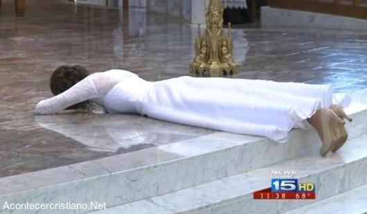 """Mujer se casa con Jesucristo """"virgen consagrada"""""""