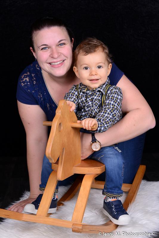 photo maman et son enfant studio