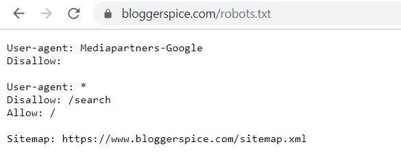 check whether or not the website has a robots.txt file