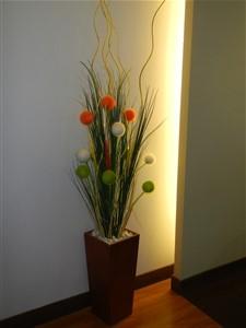 Bunga Hias Plastik