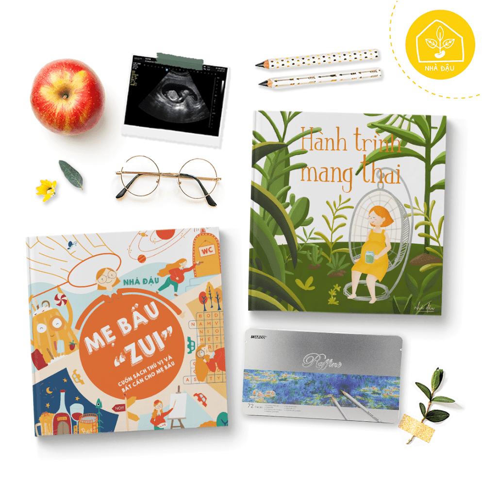 [A116] Hành trình mang thai: Sách hay cho Mẹ trong tam cá nguyệt thứ 2