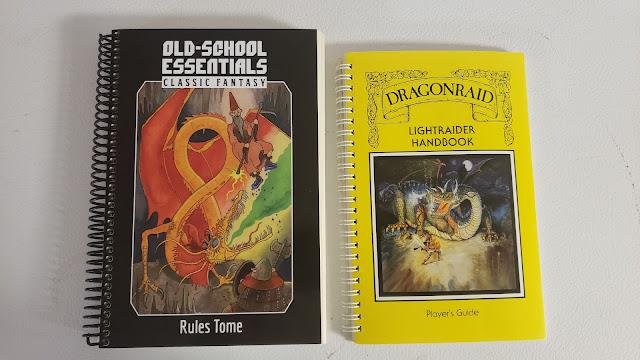 Spiral bound player's books